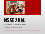 NSSE 2014: - University of Wisconsin–La Crosse