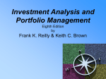 Lecture Presentation to accompany Investment Analysis & Portfolio
