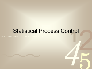 Presentation-Statistical Process Control