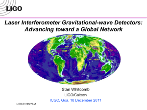 Searching for GW with LIGO