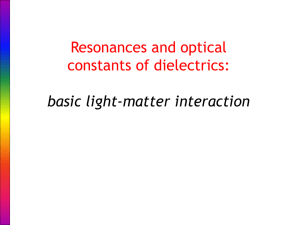 Presentation - Photonic Materials Group