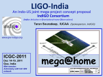 IndIGO Indian Initiative in Gravitational