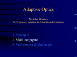 Adaptive Optics Nicholas Devaney GTC project, Instituto de