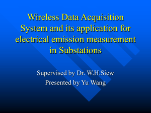 Wireless Digital System and its application in EMI