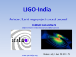 LIGO-India Detecting Einstein's Elusive Waves Opening a