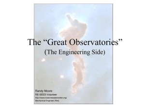 The Great Observatories - Center for STEM Education