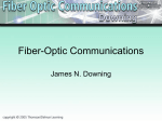 Fiber Optic Communications - New Mexico State University