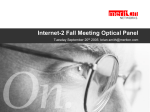 Internet-2 Fall Meeting Optical Panel