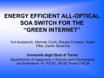"energy efficient all-optical soa switch for the ""green internet"""