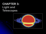 CHAPTER 3: Light and Telescopes