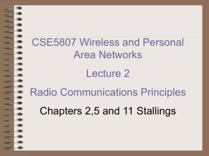 Radio Communications Principles