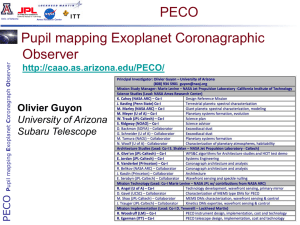 The Pupil mapping Exoplanet Coronagraphic Observer