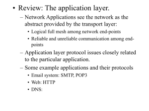 Lecture 7: Physical Layer 1