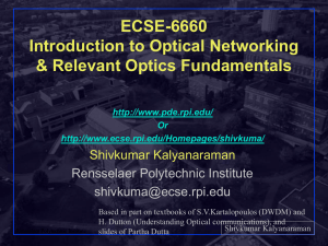 356961: Internet Protocols - ECSE - Rensselaer Polytechnic Institute