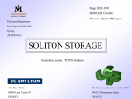 SOLITON STORAGE