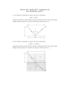 Physics 422 - Spring 2015 - Assignment #5