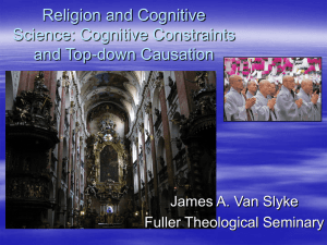 Cognitive Science and the Emergence of Symbolic Thought