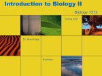 Introduction to Biology II - University of Houston–Downtown