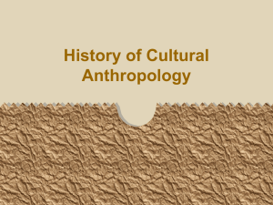 Cultural Anthropology`s big names