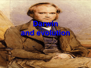 Charles Darwin and Evolution