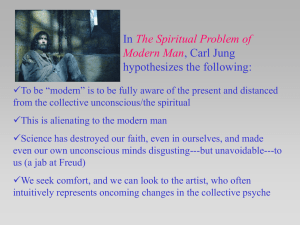 The Spiritual Problem of Modern Man