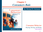 Chapter 1 Consumers Rule