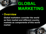 Chapter 1 Global Marketing