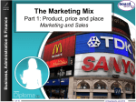 The Marketing Mix Part 1