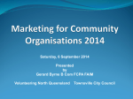 Marketing for Community Organisations Townsville Saturday
