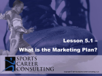 Lesson 5.1 - The Marketing Plan