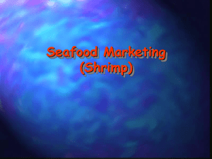 Lecture 10: Seafood Marketing