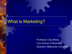 THE CHANGE IN MARKETING - Southern Methodist University