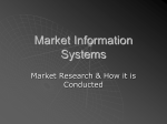 Market Information Systems