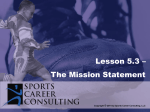 Lesson 5.3 - Mission Statement