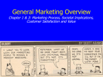 General Marketing Concepts