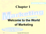 Chapter 1. Welcome to the World of Marketing