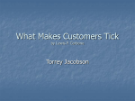 What Makes Customers Tick by Lewis P. Carbone