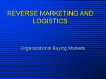 REVERSE MARKETING AND LOGISTICS
