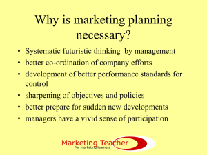 b.marketing planning.. - The eMarketing Association