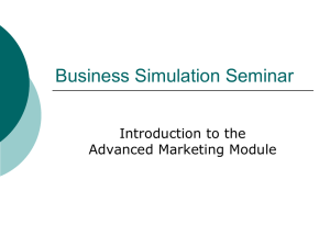 Business Simulation Seminar - B-K