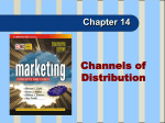 DISTRIBUTION CHANNELS People and firms involved in the