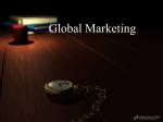 Global Marketing & Management