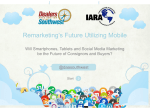 Will Smartphones, Tablets and Social Media Marketing be the