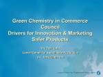 Tools and Approaches for Sustainable Chemicals