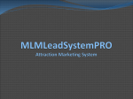 MLMLeadSystemPRO Attraction Marketing System