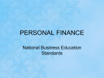 personal finance - Mentor High School