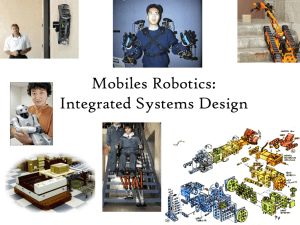 Robotics: Integrated Systems Design Mechanics, Electronics