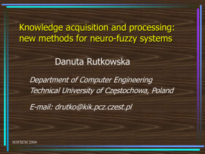 Knowledge acquisition and processing: new methods for