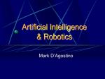 Artificial Intelligence & Robotics