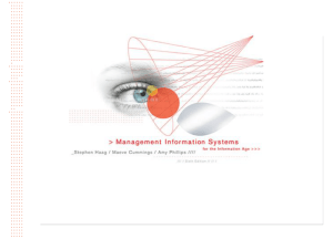 Management Information Systems 6/e